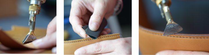 Fabrication porte-monnaie escarcelle