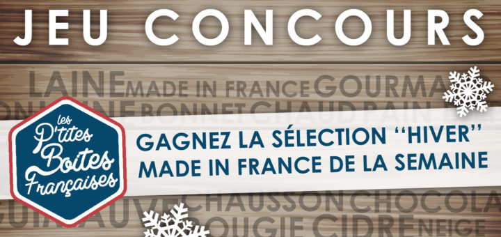 Jeu concours sélection made in France