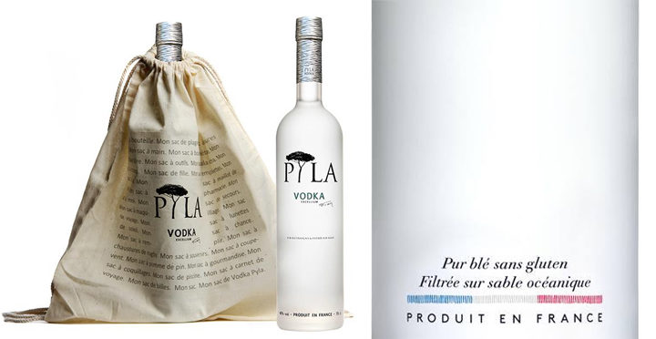 vodka pyla sans gluten