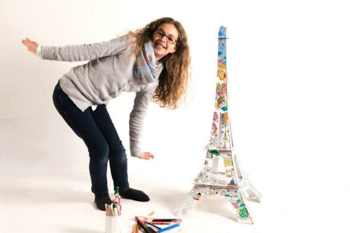 La Tour Eiffel à colorier