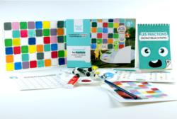 Kit Peinture Fractions - La Boutique des Inventions
