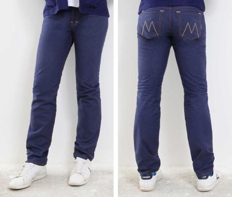 Avec sa coupe droite intemporelle voici un Jeans français 5 poches aux  finitions soignées conçu de façon responsable. Ce jeans homme est produit  avec un « ... 6c39ea5157b